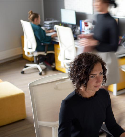 Pracownicy Grupy 3S w biurze