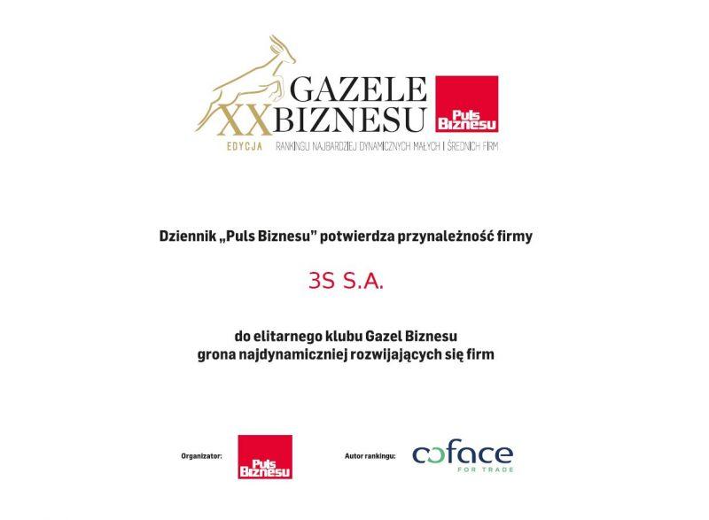 Gazele Biznesu 2019 3S