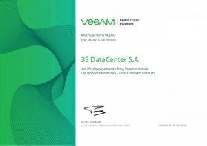 3S Data Center Pierwszym w Polsce partnerem veeam