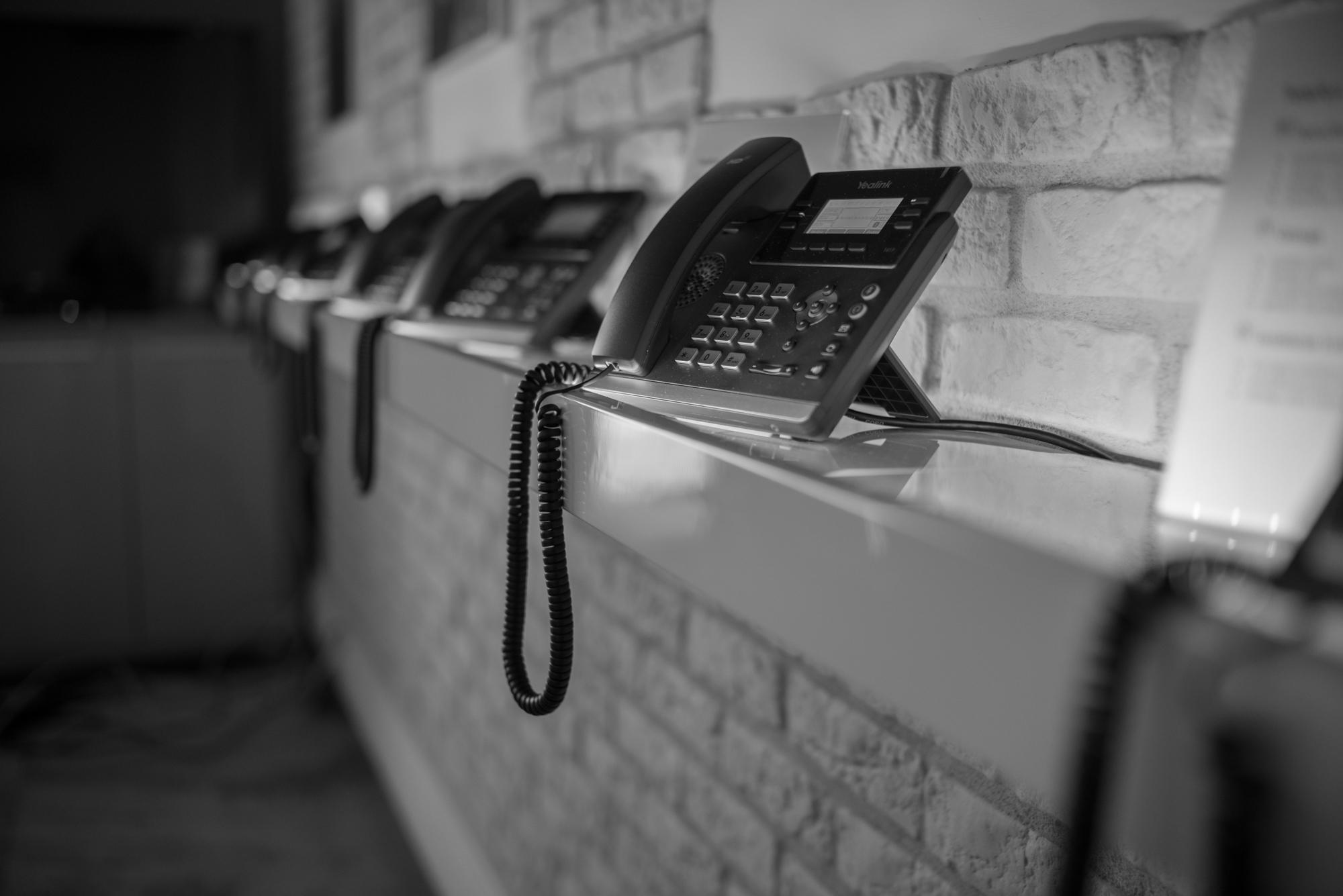 Demo Room telefony