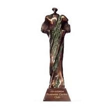 Cezary śląskiego biznesu statuetka