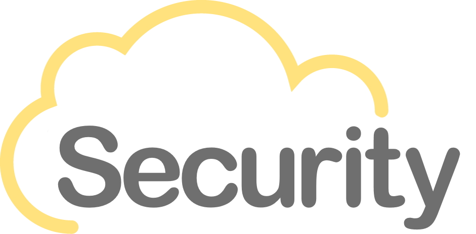 Logo Security szare