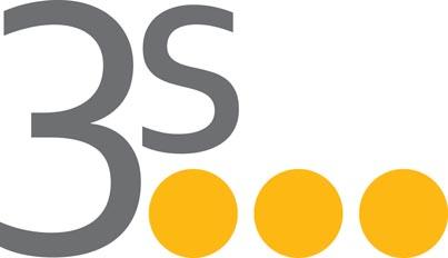 stare logo 3S bez play