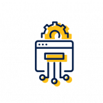 Usługi, infrastruktura IT ikona