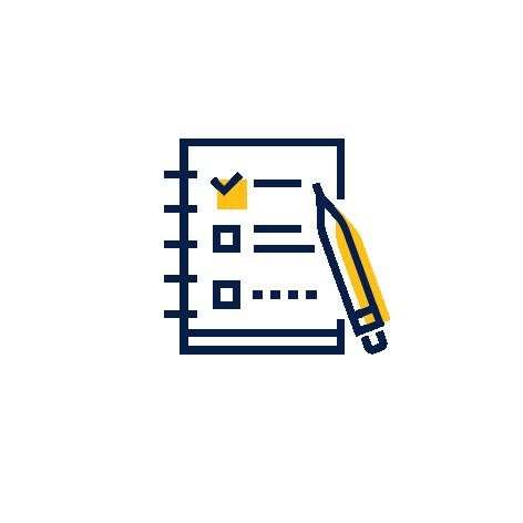 ikona kartka ołówek