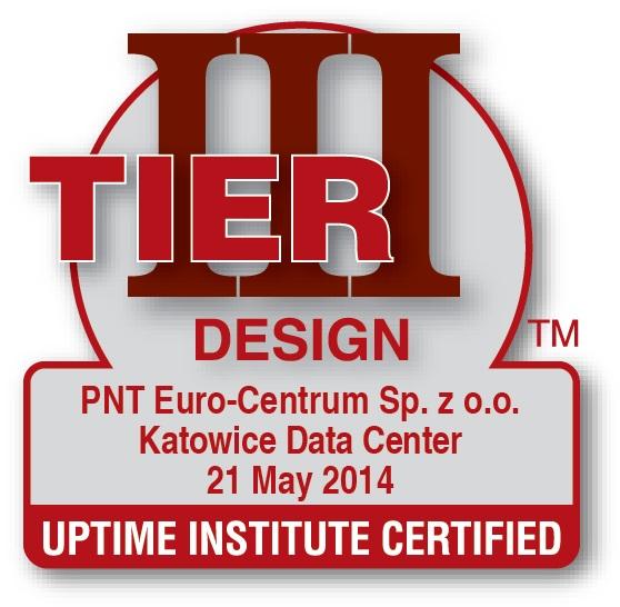 Certyfikat Tier III design