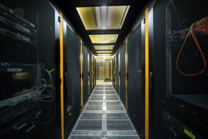 Szafy w 3S Data Center