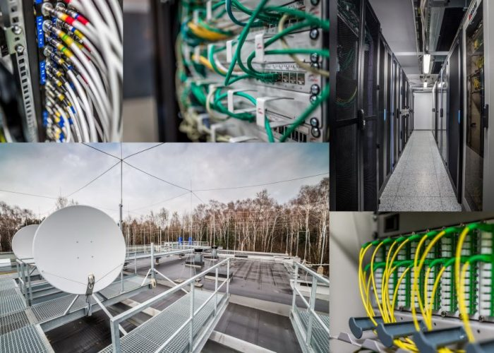 kolarz kabli i anten 3S Data Center