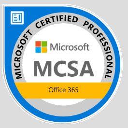 Microsoft Certyficate Proffesional