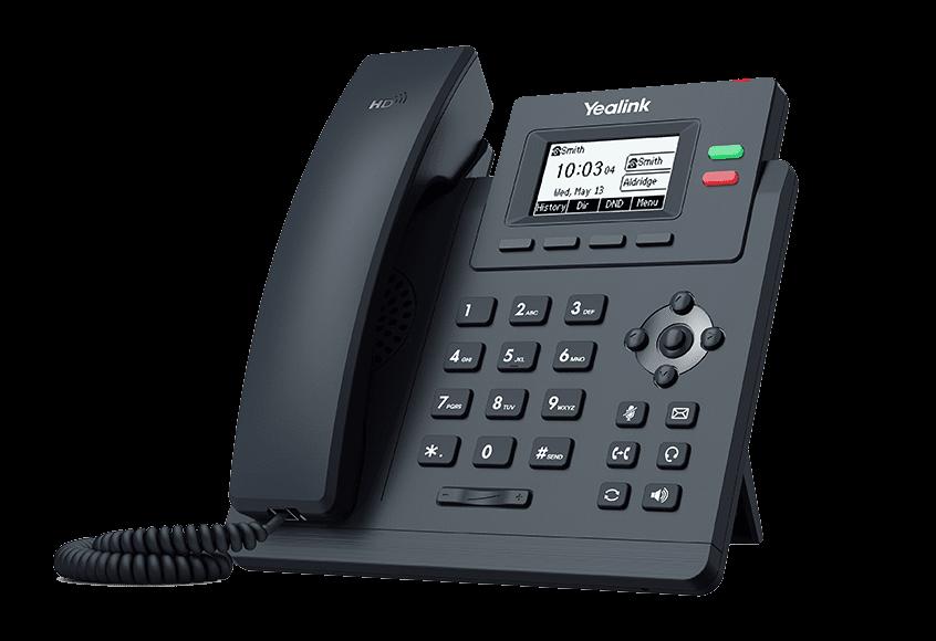 Telefon yealink seria T3X T31G