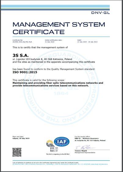 management system certificate iso 9001 2015 eng