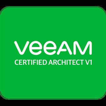 certyfikat veeam certified architect v1