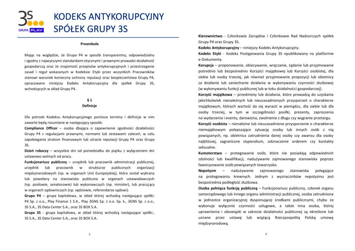 Kodeks Antykorupcyjny Spółek Grupy 3S_1