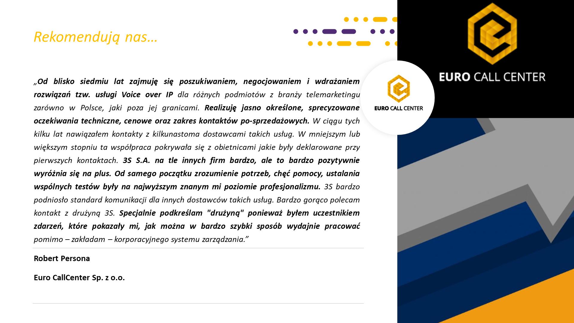 RekomendacjaEuroCallcenter