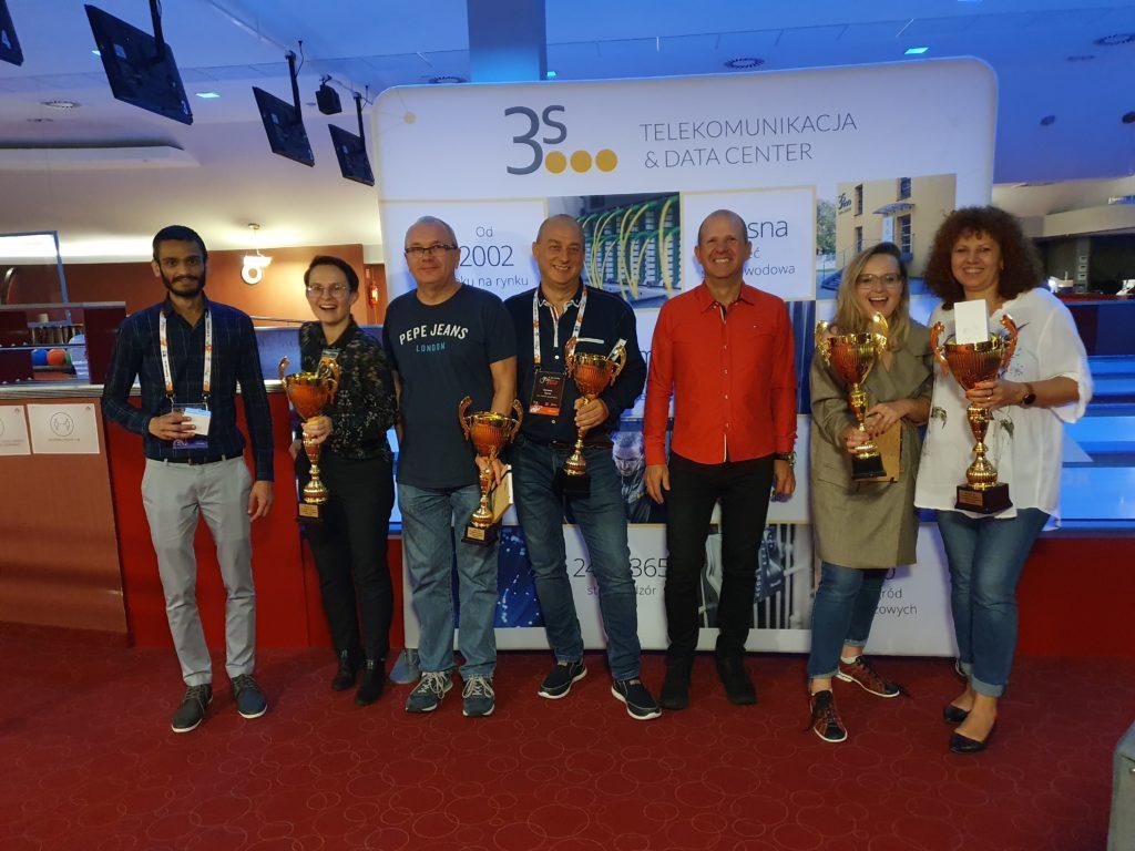 zwycięzcy Turnieju w Kręglach o Puchar 3S